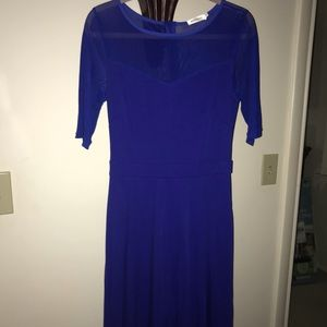 Beautiful blue dress drop waist Sz Small
